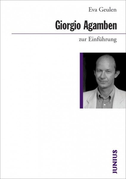 Giorgio Agamben zur Einführung